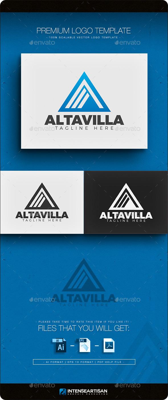 Altavilla - Letter A Logo - Letters Logo Templates
