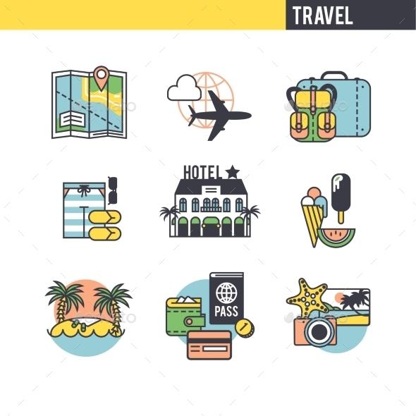 Concept Expenses. - Travel Conceptual