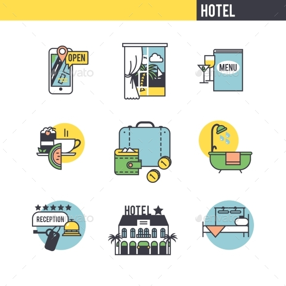The Concept Of The Hotel. - Travel Conceptual