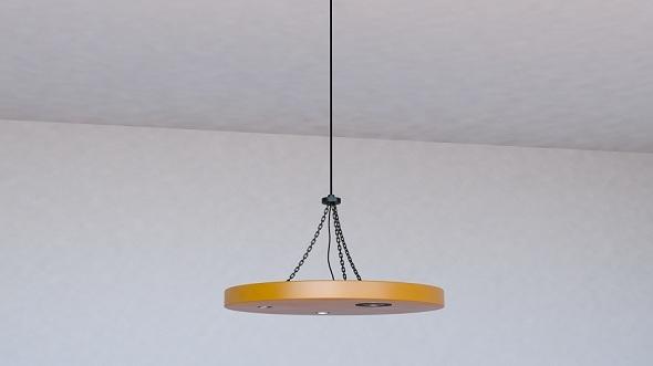 Ceiling Lamp - 3DOcean Item for Sale