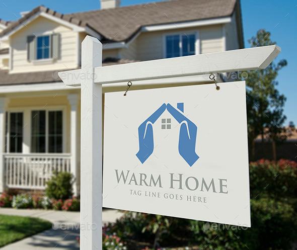 Warm Home - Logo Templates