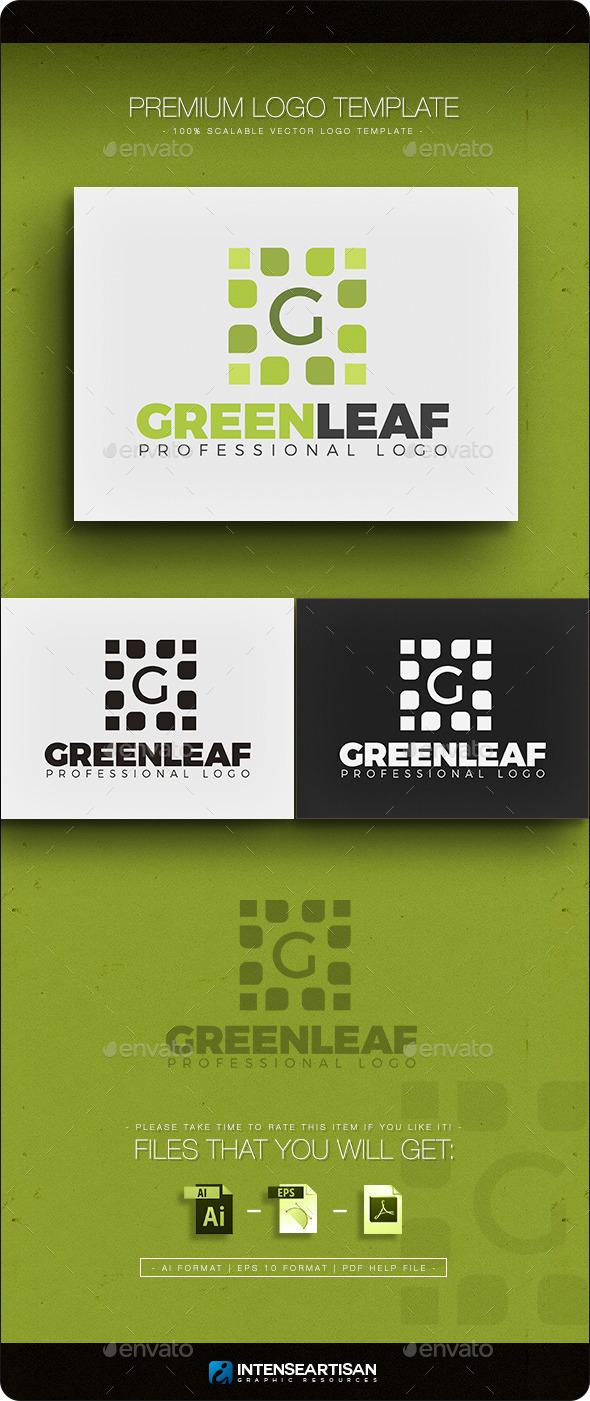 Green Leaf - Letter G Logo - Nature Logo Templates