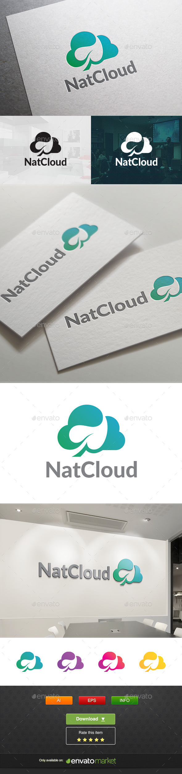 Natcloud - Objects Logo Templates