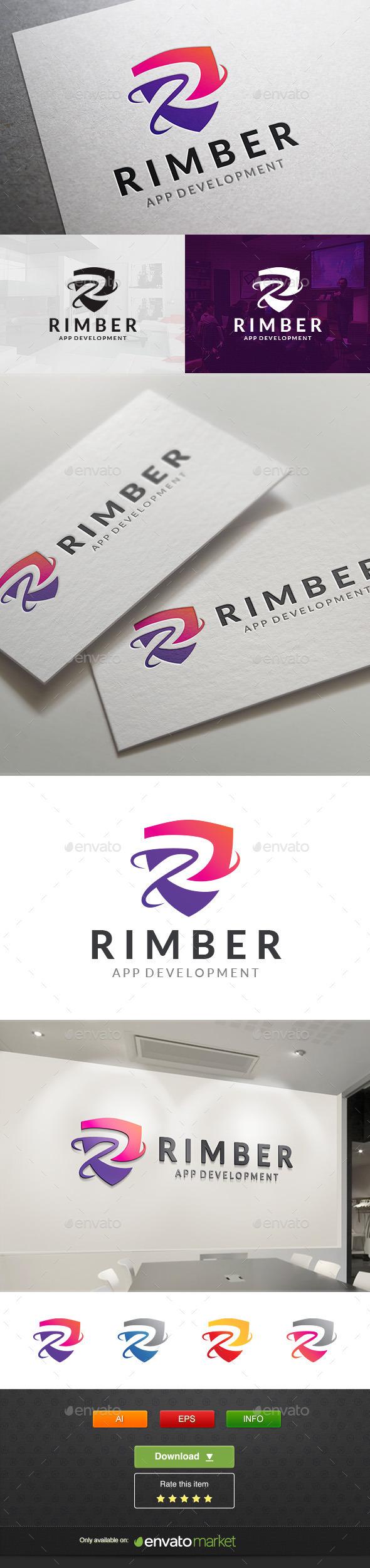 Rimber Tech - Letters Logo Templates