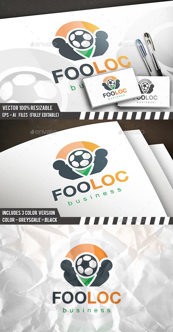 Football Locator Logo - Symbols Logo Templates