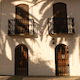 Mediterranean House with Palms Shadows - VideoHive Item for Sale