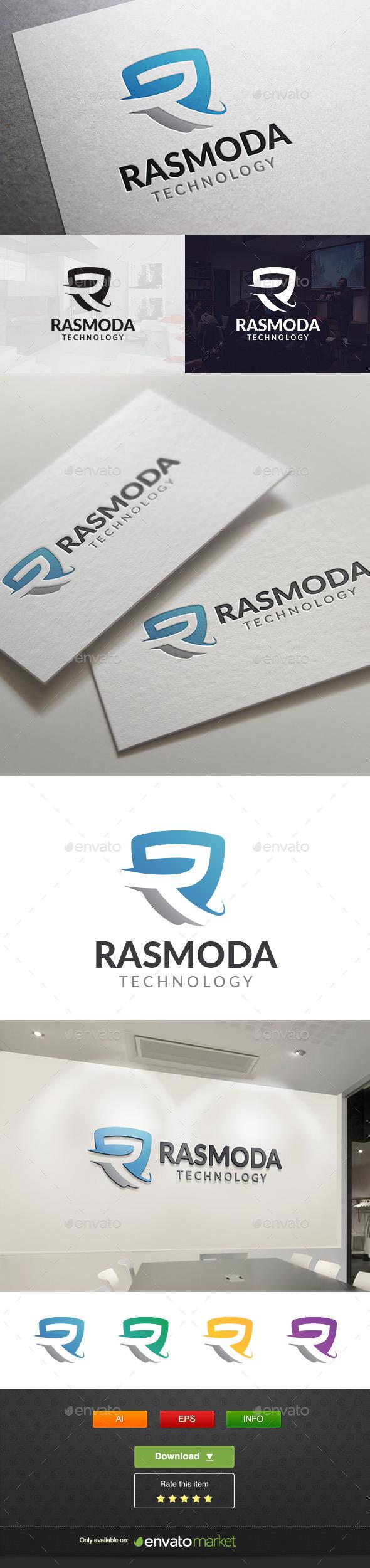 Rasmoda - Letters Logo Templates