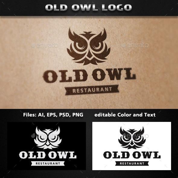 Owl Logo Template - Symbols Logo Templates