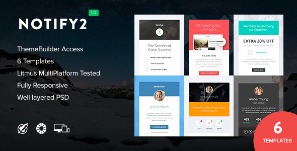 Notify2 – Notification Email + Themebuilder Access