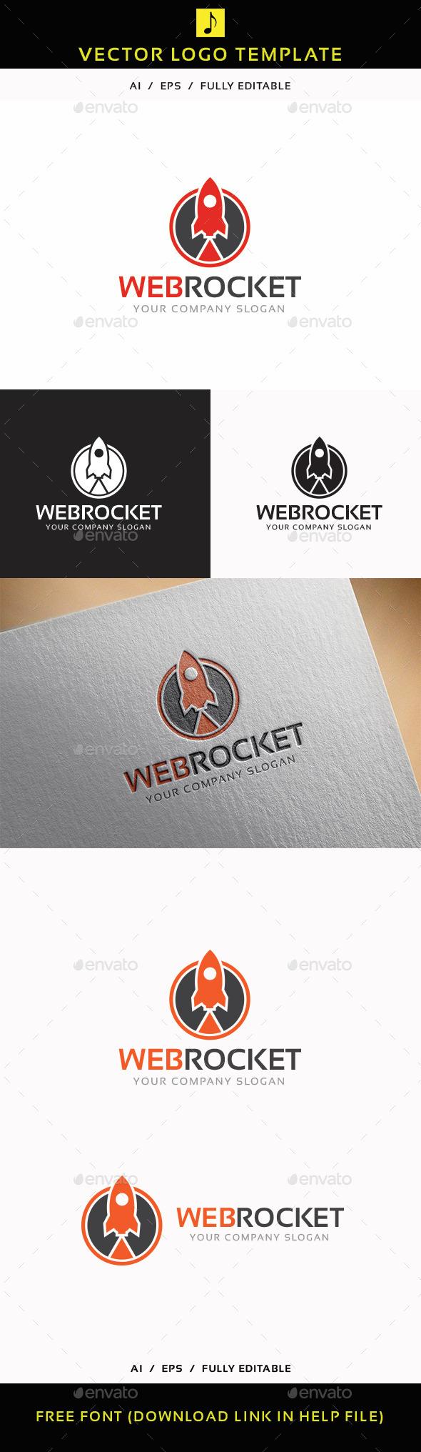 Web Rocket - Objects Logo Templates