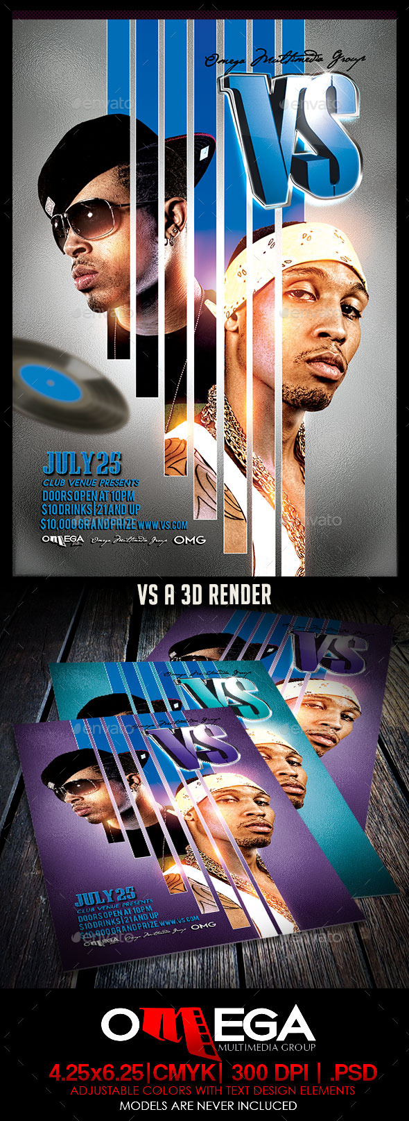 Verses - Events Flyers