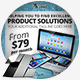 Product Sale Marketing Web & Facebook Banners - GraphicRiver Item for Sale