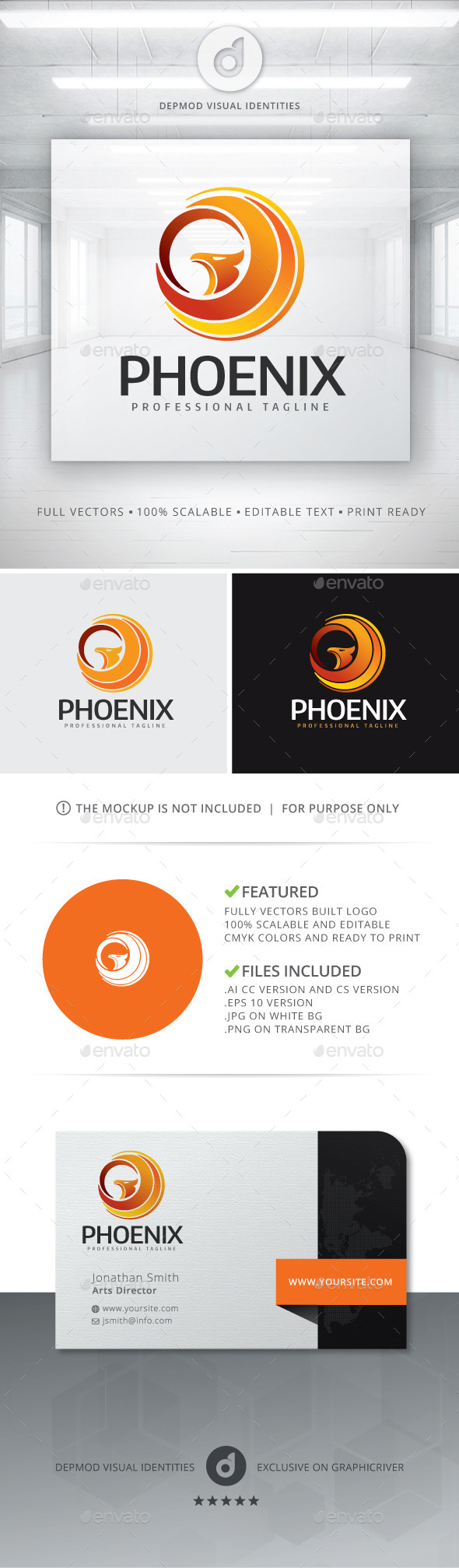 Phoenix Logo - Symbols Logo Templates