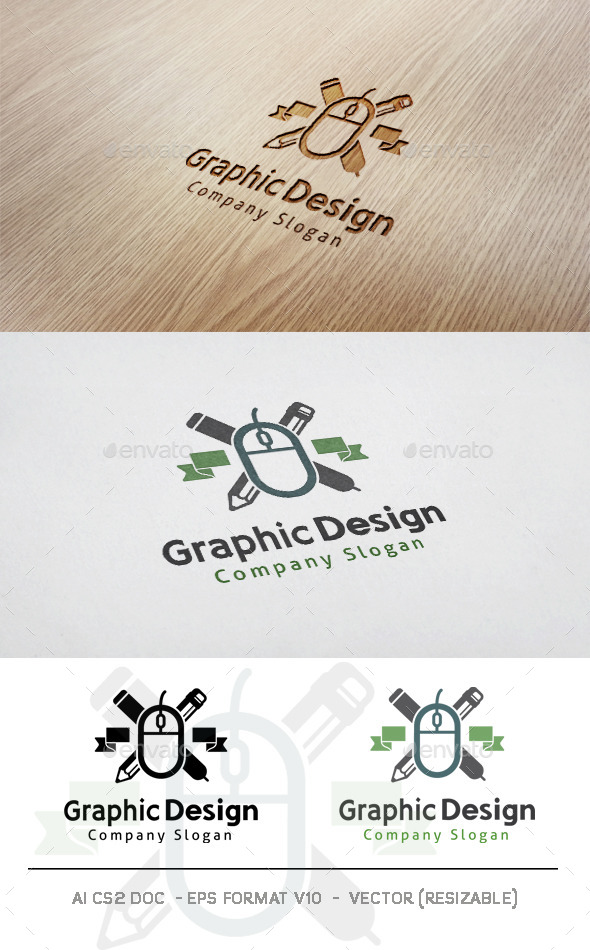 Graphic Design Logo - Objects Logo Templates