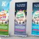 Family Fun Day Roll-up Banners - GraphicRiver Item for Sale