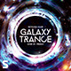 Galaxy Trance Flyer - GraphicRiver Item for Sale