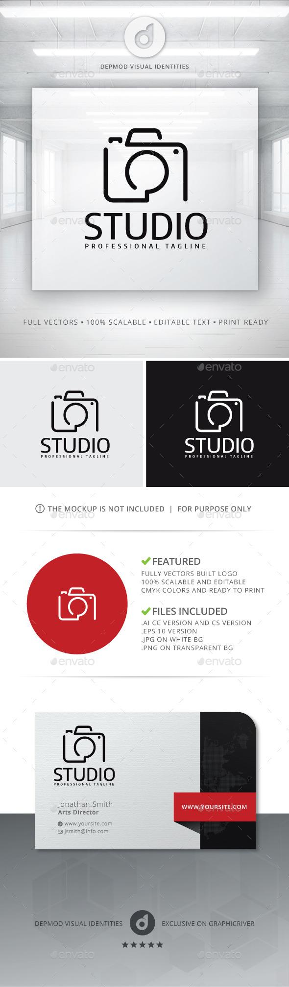 Studio Logo - Objects Logo Templates