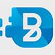 Blue Desk - Letter B Logo