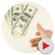 Throwing a Stack of Dollars - VideoHive Item for Sale