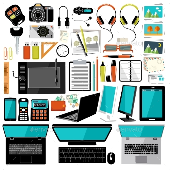 Office Items and Accessories - Computers Technology