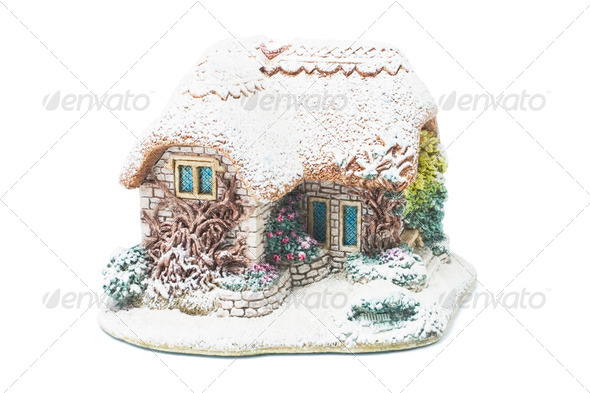 Christmas House Ornament - Stock Photo - Images