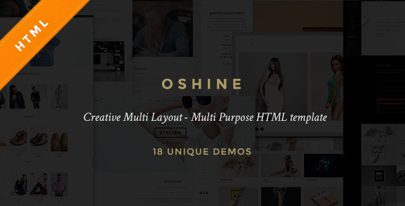 Oshine - Creative Multi-Purpose HTML Template - Creative Site Templates