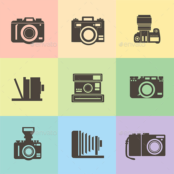 Cameras - Man-made Objects Objects