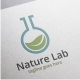 Nature Lab Logo - GraphicRiver Item for Sale