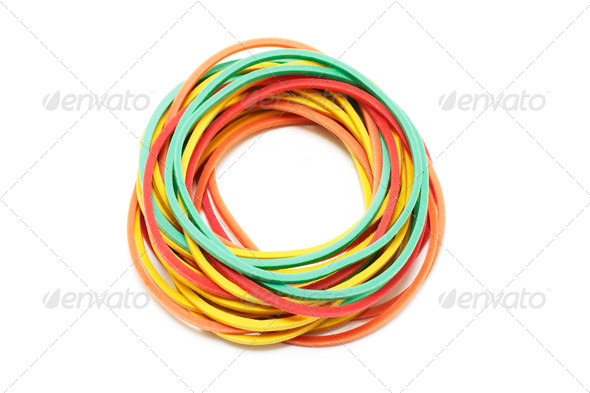 Rubber Bands - Stock Photo - Images