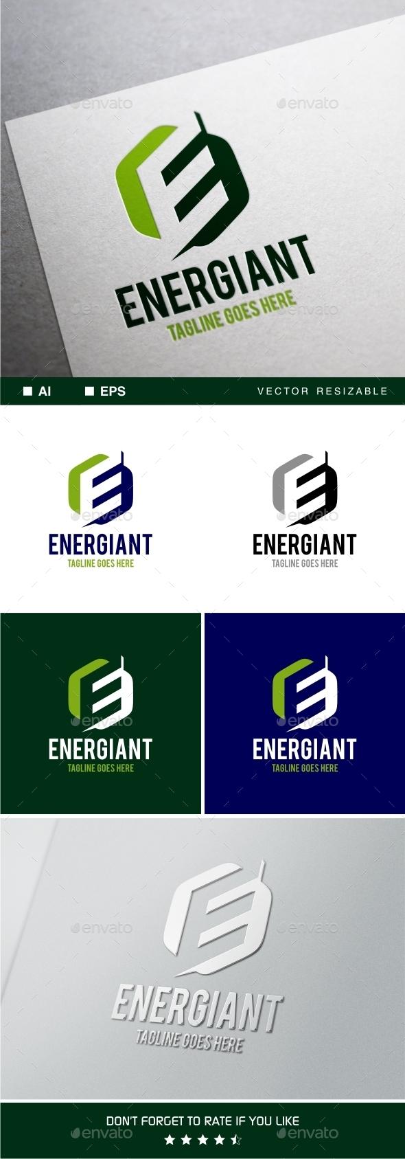 Energiant ~ Letter E Logo Template - Letters Logo Templates