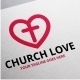 Church Love Logo - GraphicRiver Item for Sale