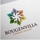 Bougenvilla Logo - GraphicRiver Item for Sale