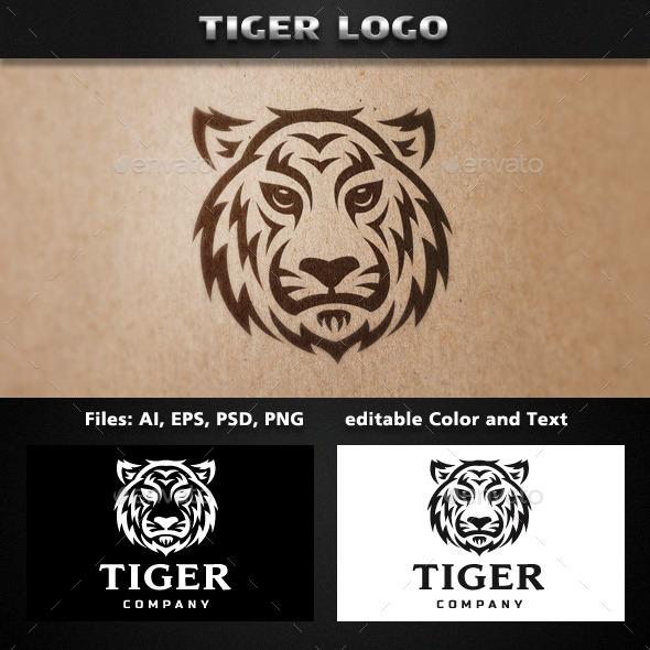 Tiger Tribal Logo Template - Animals Logo Templates