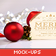 Clean and Elegant Christmas Greetings Mockups - GraphicRiver Item for Sale