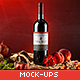 Sapore Tipico - Red Wine Branding Mock-ups - GraphicRiver Item for Sale