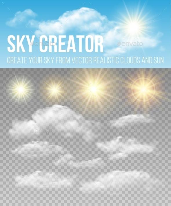 Sky Creator - Organic Objects Objects