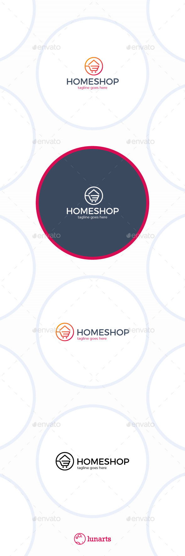 Home Shopping Logo - Symbols Logo Templates