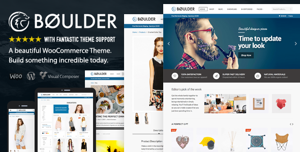 Boulder – Multi-Purpose WooCommerce Theme