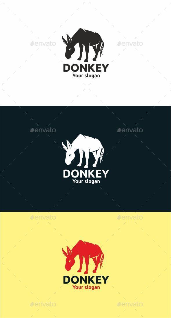 Donkey - Animals Logo Templates