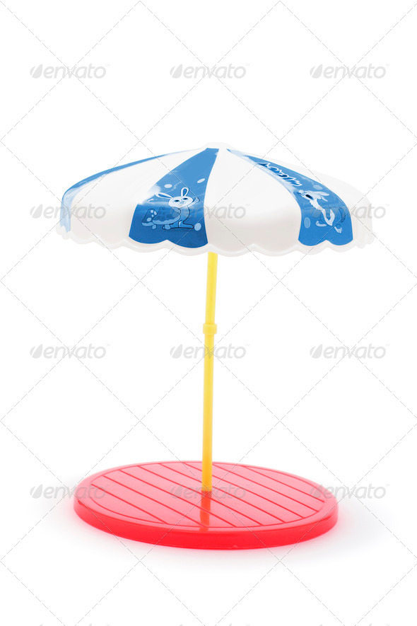 Miniature Umbrella Stand - Stock Photo - Images
