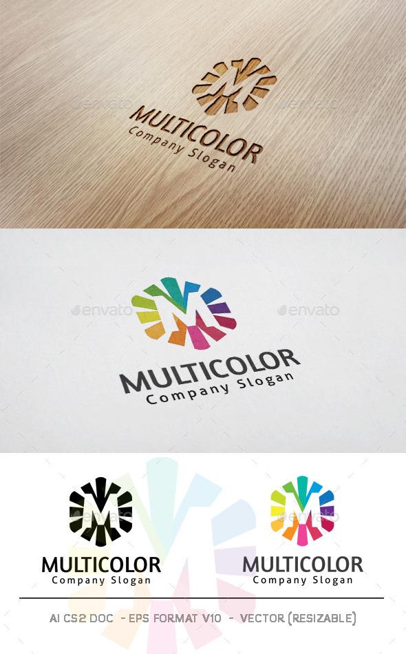 Multicolor Logo - Letters Logo Templates