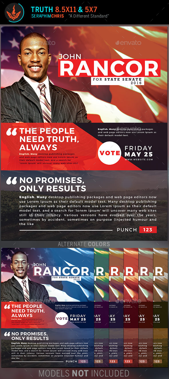 Truth: Political Flyer Template - Corporate Flyers