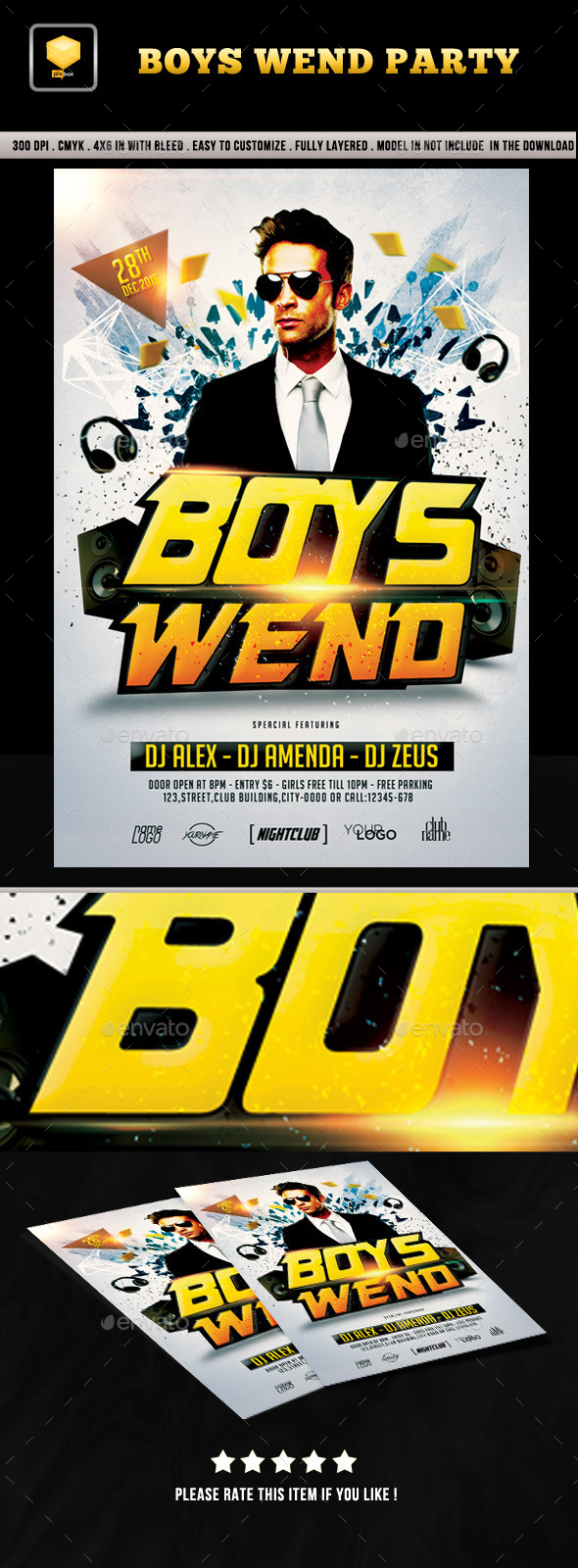 Boys Weekend Party - Clubs & Parties Events