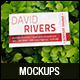 Natural Realistic Business Card Mockup V1 - GraphicRiver Item for Sale
