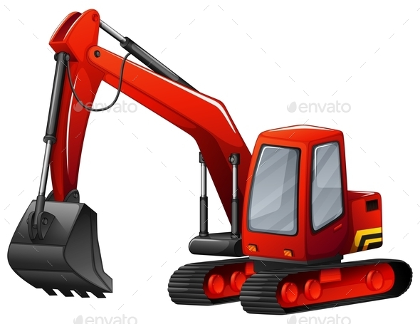 Excavator - Man-made Objects Objects