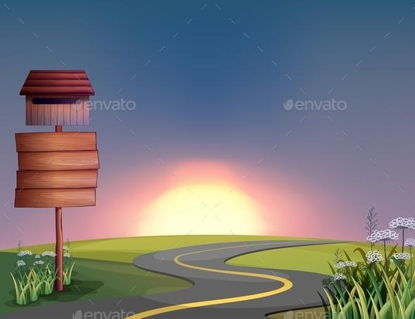 Sunset - Landscapes Nature