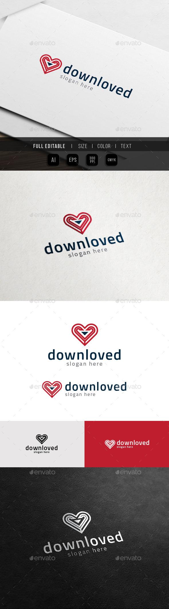 Download Heart - Share Love Logo - Symbols Logo Templates