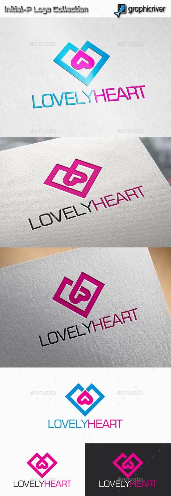 lovely Heart Logo - Abstract Logo Templates