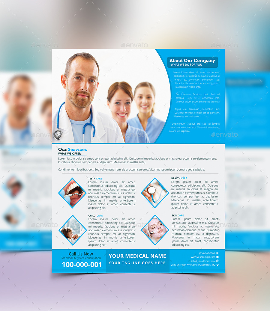 Medical Flyer Template By Flamebd Graphicriver