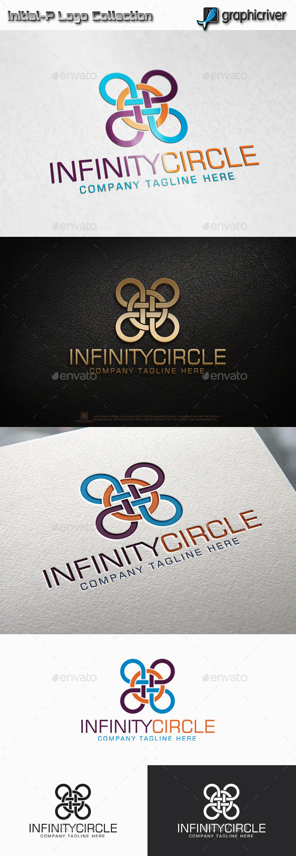 Infinity Circle Logo - Abstract Logo Templates